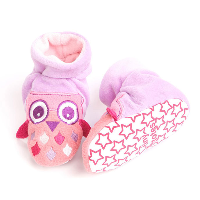 totes Novelty Slippers Owl 1218 Months
