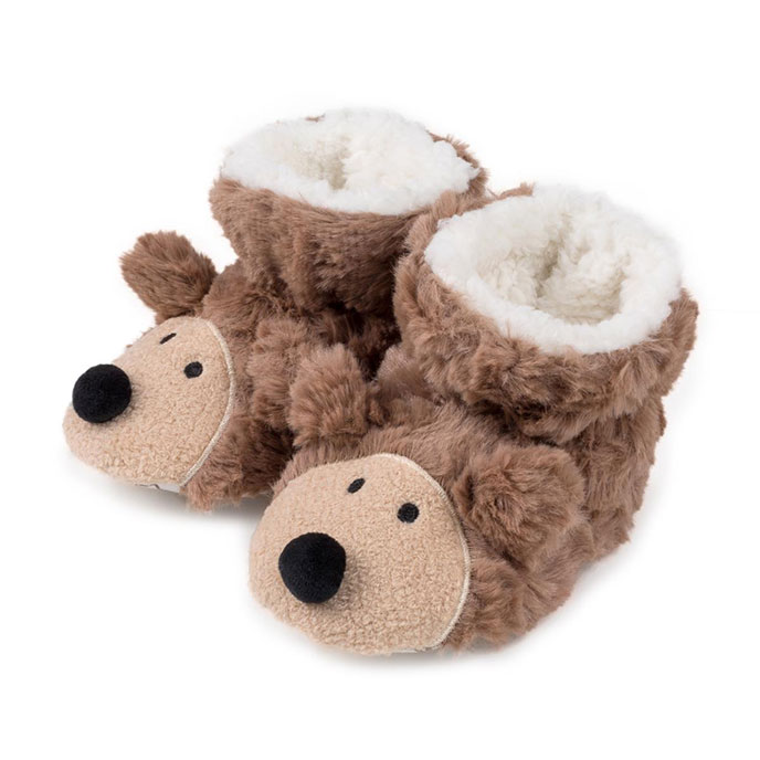totes Childrens Unisex Slippers Hedgehog