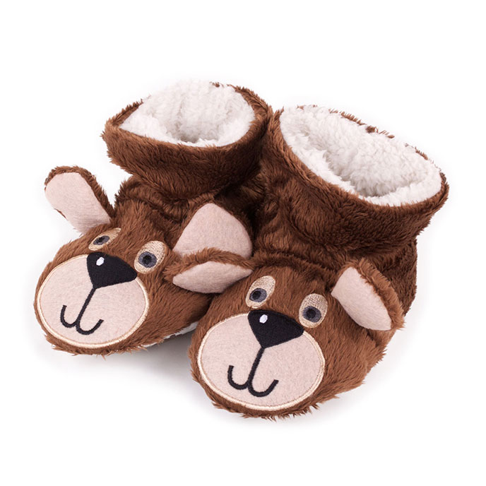 totes Boys Slippers Bear
