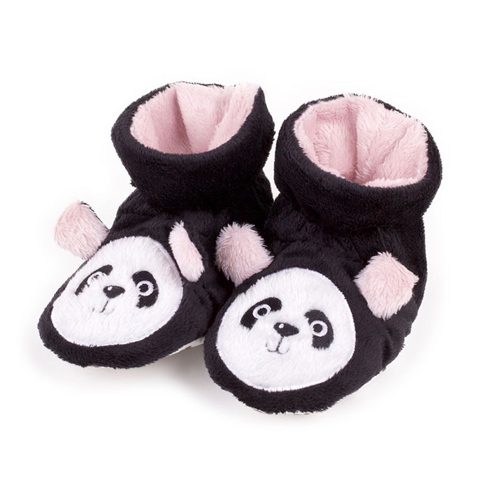 totes Girls Novelty Slippers Panda 1218 Months