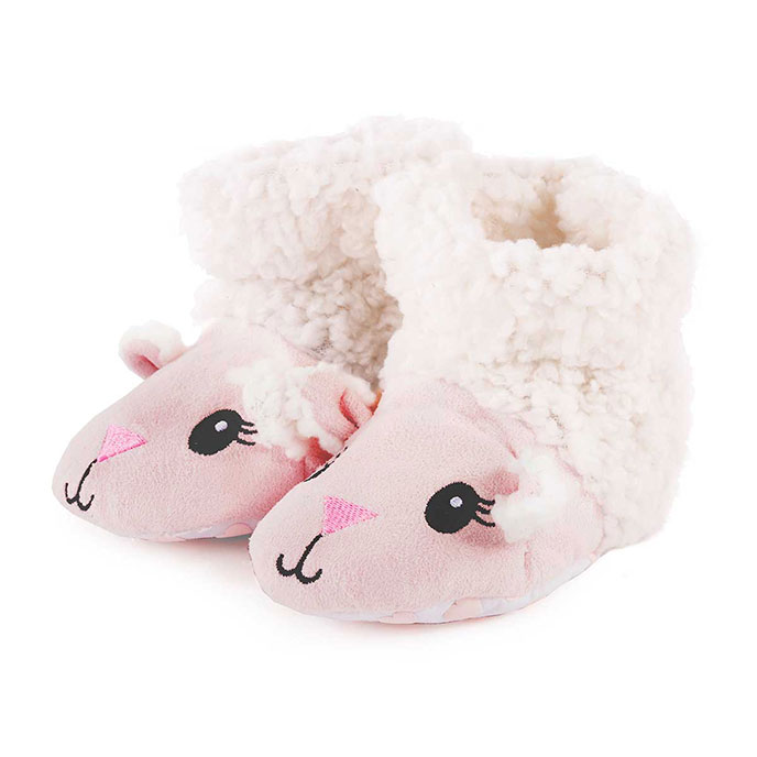 totes Girls Novelty Slippers Sheep 1218 Months