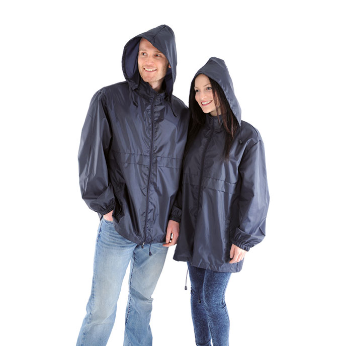 totes Packable Raincoat Navy