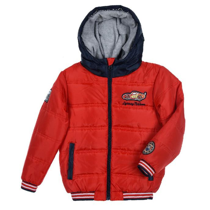 Cars Puffer Jacket Red