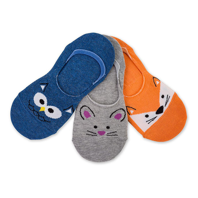 totes Novelty Footsie Socks Animal One Size
