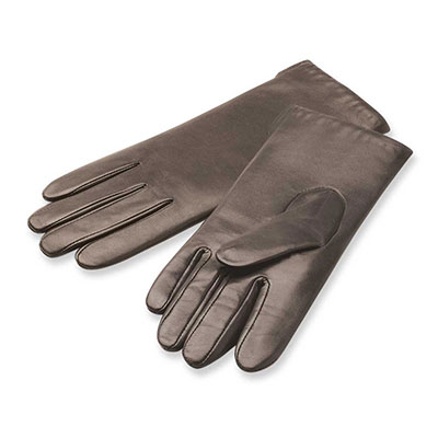 isotoner Cashmere Lined Smooth Leather Glove Light Chocolate