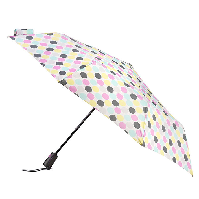 totes Auto Open Close XTRA STRONG Big Paradise Spot Umbrella (3 Section)