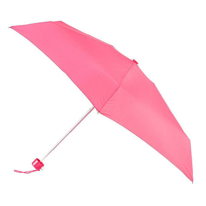 totes Mini Round Coral Umbrella (5 Section)