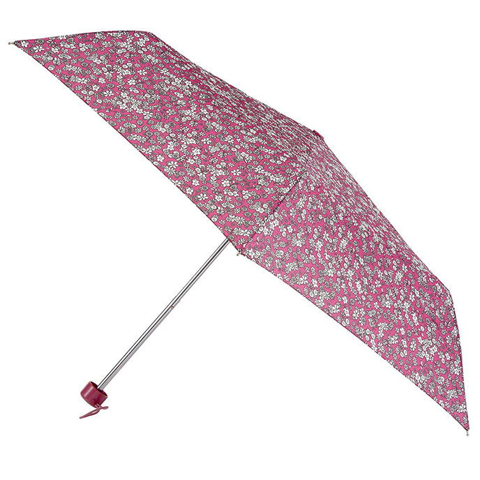totes Mini Round Ditsy Floral Print Umbrella (5 Section)