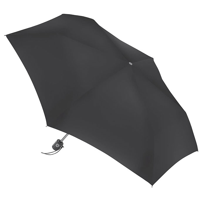 totes Black Auto Open Close Umbrella