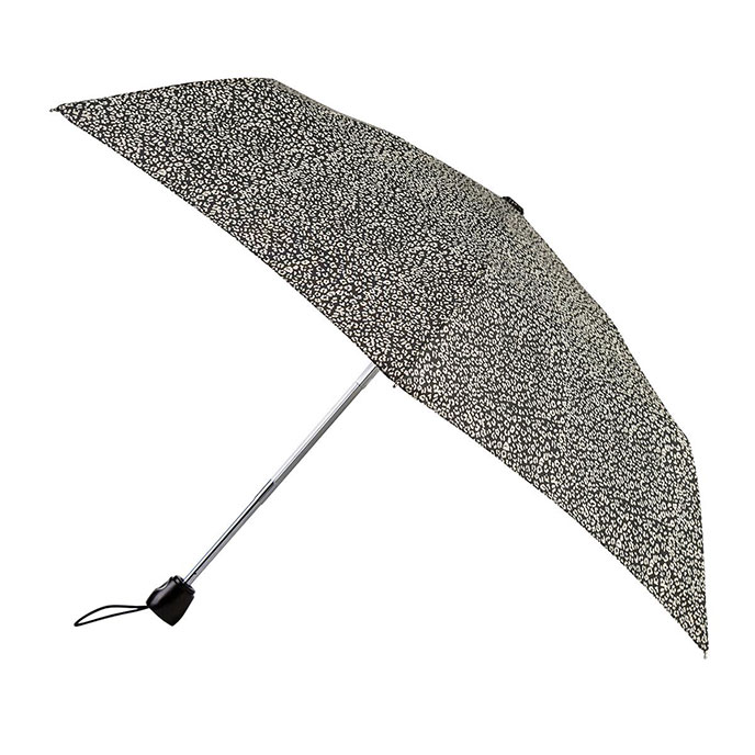 totes Auto Open/Close Thin Leopard Print Umbrella (3 Section)