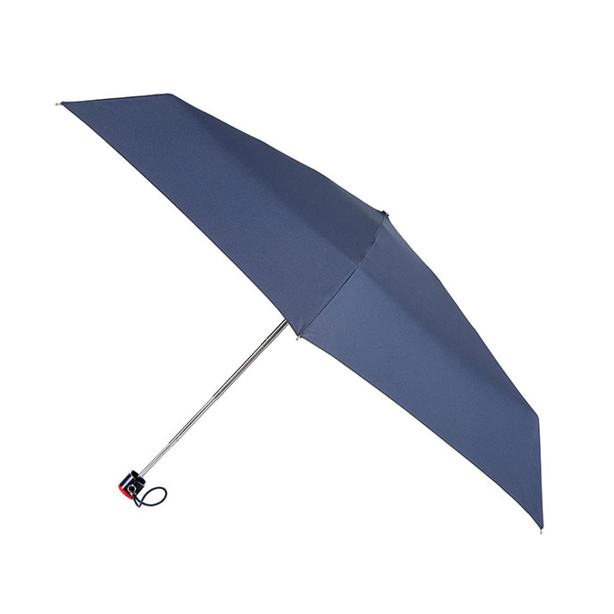 totes Thin Navy Umbrella (5 Section)
