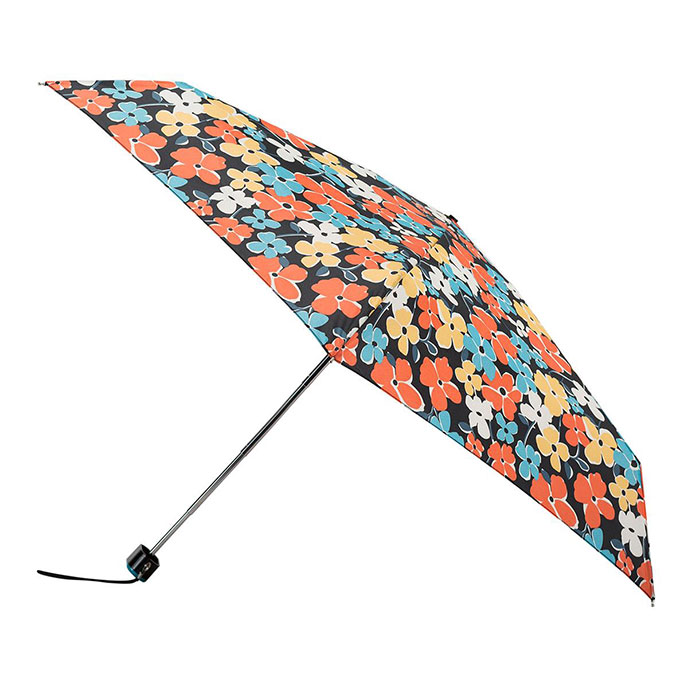5 Section totes Miniflat Dotty Small Leopard Print Umbrella