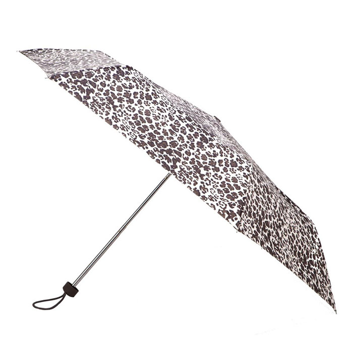 totes Leopard Mini Umbrella (3 Section)