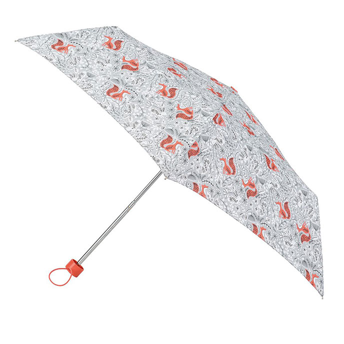 totes Supermini Forest Animal Print Umbrella (3 Section)