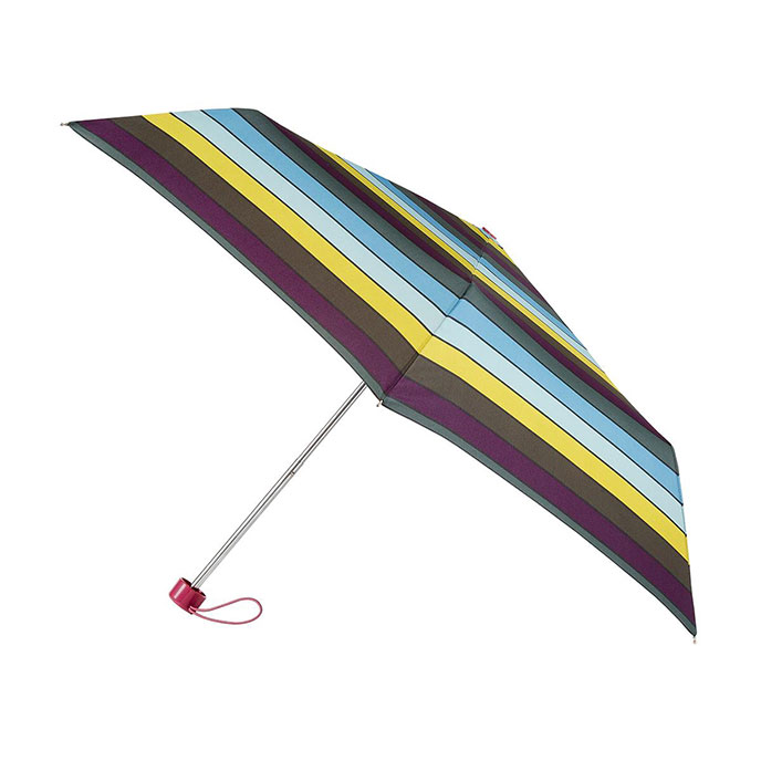 totes Supermini Multi Block Stripe Umbrella (3 Section)