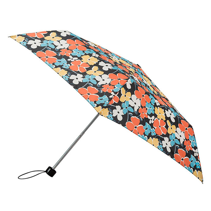 totes Steel Breeze Flowers Print Umbrella  (3 Section)