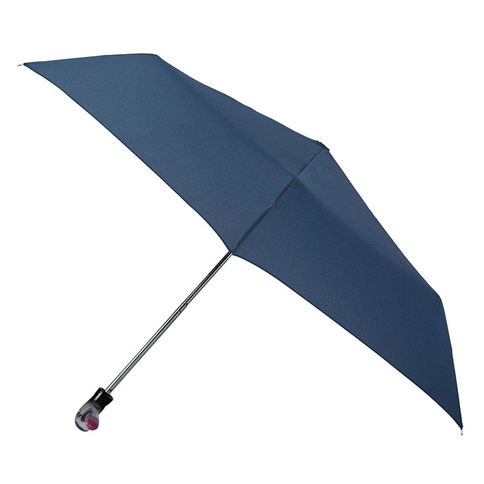 totes Steel Navy Umbrella  (3 Section)