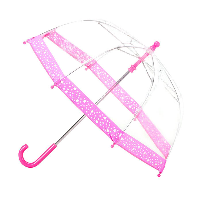 totes Childrens PVC Dome Stars Umbrella