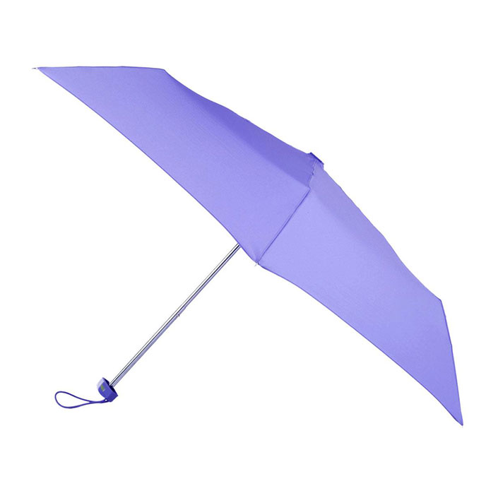 totes Lavender Miniflat Umbrella   (3 Section)