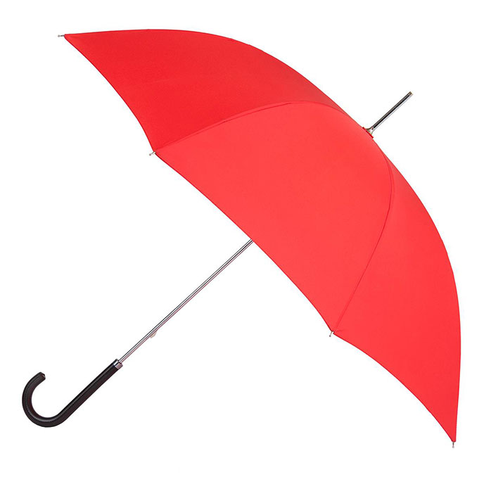 EXCLUSIVE totes Ladies Elegant Walking Umbrella Scarlet