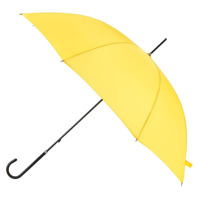 EXCLUSIVE totes Ladies Elegant Walking Umbrella Yellow