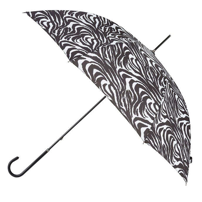 EXCLUSIVE totes Ladies Elegant Walking Umbrella Zebra