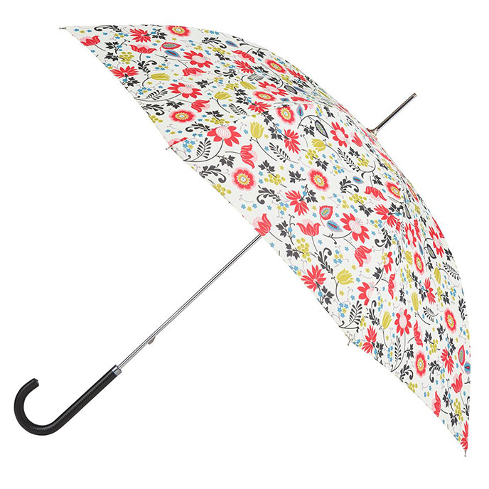 EXCLUSIVE totes Ladies Elegant Walking Umbrella Folk Floral Print