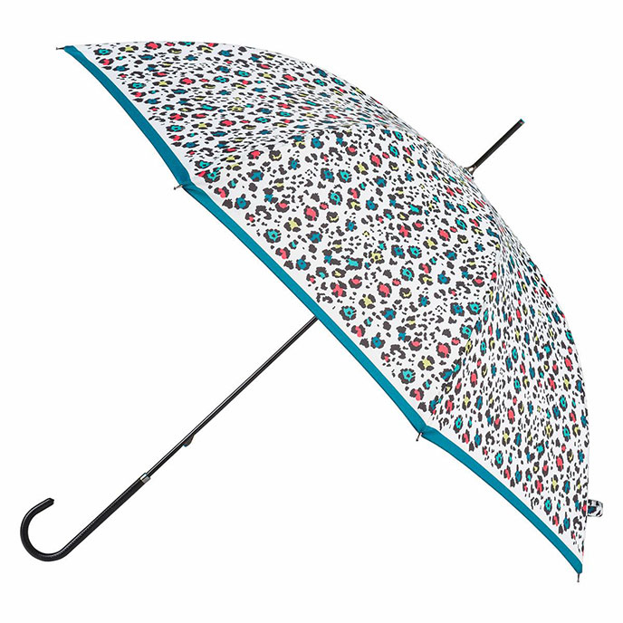 EXCLUSIVE totes Ladies Elegant Walking Umbrella Animal Colour Print