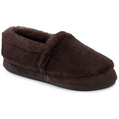 Acorn Kids Tex Moccasin Slippers Black Bear