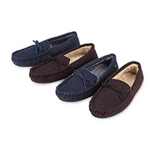 totes Zig Zag Moccasin Slippers