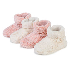 totes Ladies Fluffy Booties