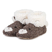 totes Ladies Novelty Bootie Slipper