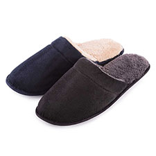 totes Mens Cord Mule Slippers