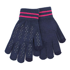 totes Ladies Original Smartouch Gloves Blue