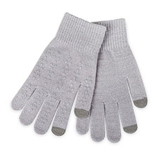 totes Ladies Original Smartouch Glove Grey