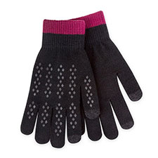 totes Mens Original Smartouch Glove Black