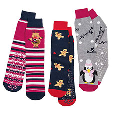 totes Ladies Original Slipper Socks