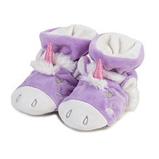 totes Girls Novelty Unicorn Slippers