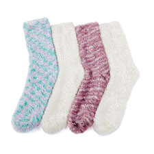totes Ladies Untreaded Bedsox (Twin Pack)