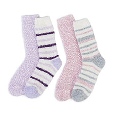 totes Ladies Bobble Cosy Socks (Twin Pack)