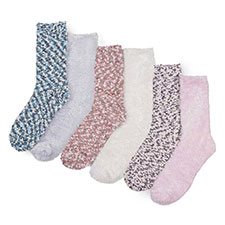 totes Ladies Untreaded Bed Socks (Twin Pack)