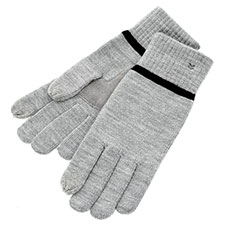 SmarTouch Mens Knit 2 Finger Touchscreen Gloves