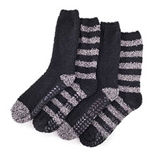 totes Mens Supersoft Socks (Twin Pack)