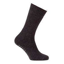 totes toasties Mens Single Original Slipper Socks Charcoal