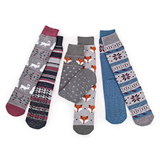 totes Mens Original Slipper Socks (Twin Pack)