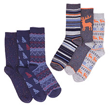 totes Mens Untreaded Socks (3 Pack)