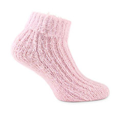 totes toasties Ladies Luxurious Supersoft Bed Socks Pink