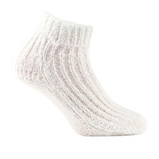 totes toasties Ladies Luxurious Supersoft Bed Socks White