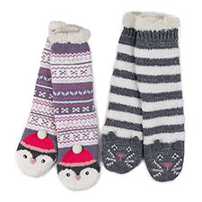 totes Ladies Novelty Chunky Socks