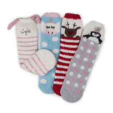 totes Ladies Novelty Cosy Socks